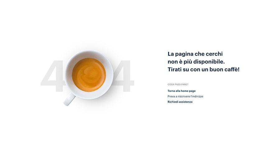 Pagina 404 Lavazza